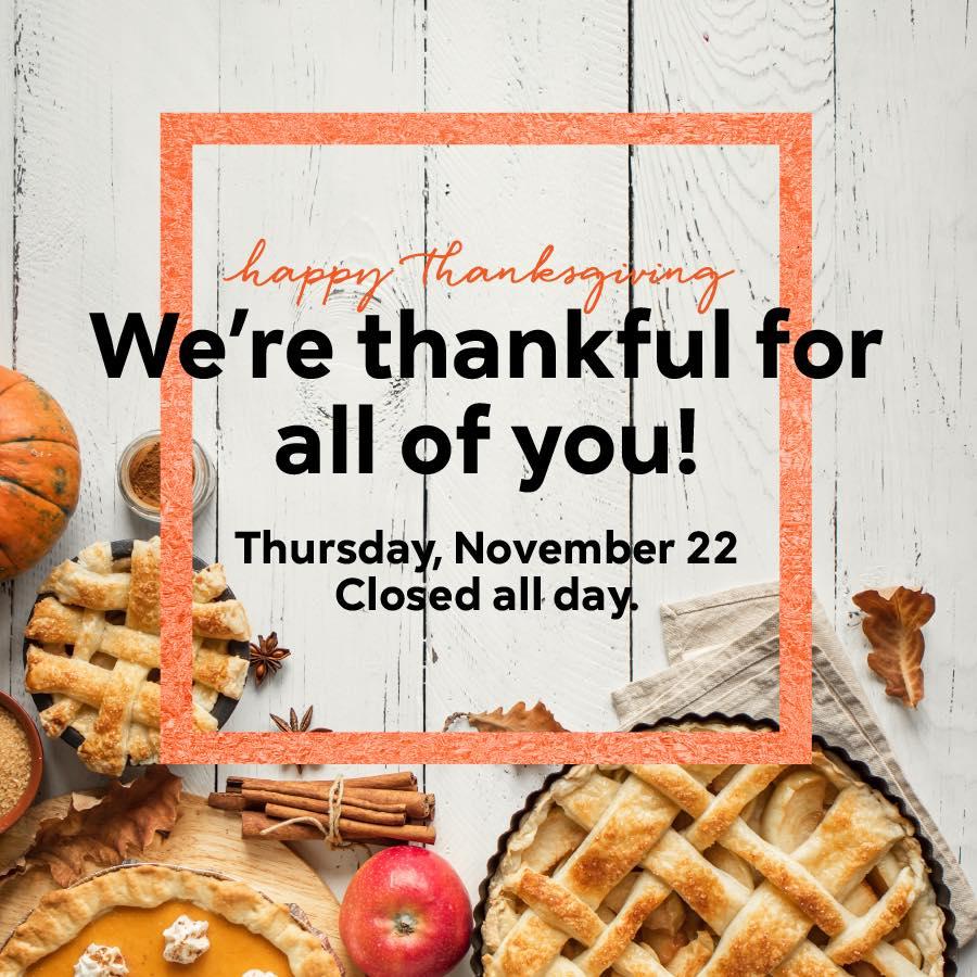 Surterra Thanksgiving
