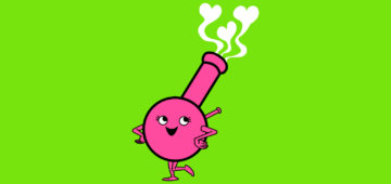 Cannabis Cupid Valentines Day