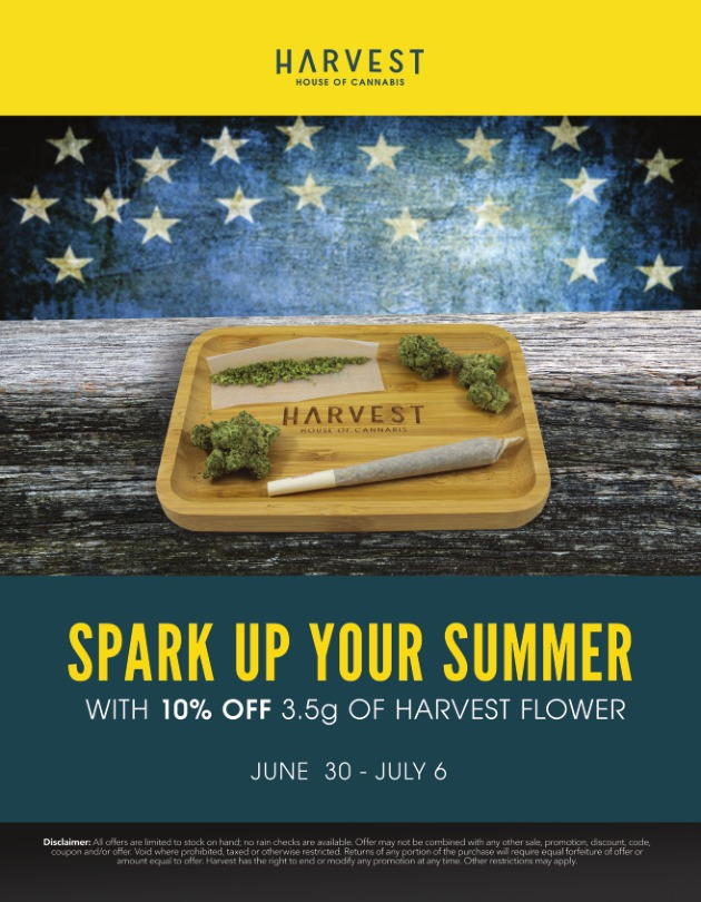 Harvest 4th of July Sales