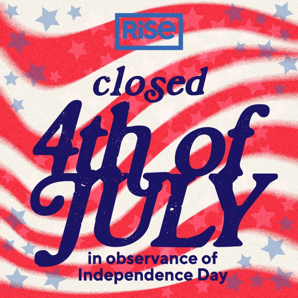 Rise 4th of July Sales