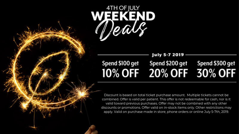 Curaleaf 4th July Weekend Sales