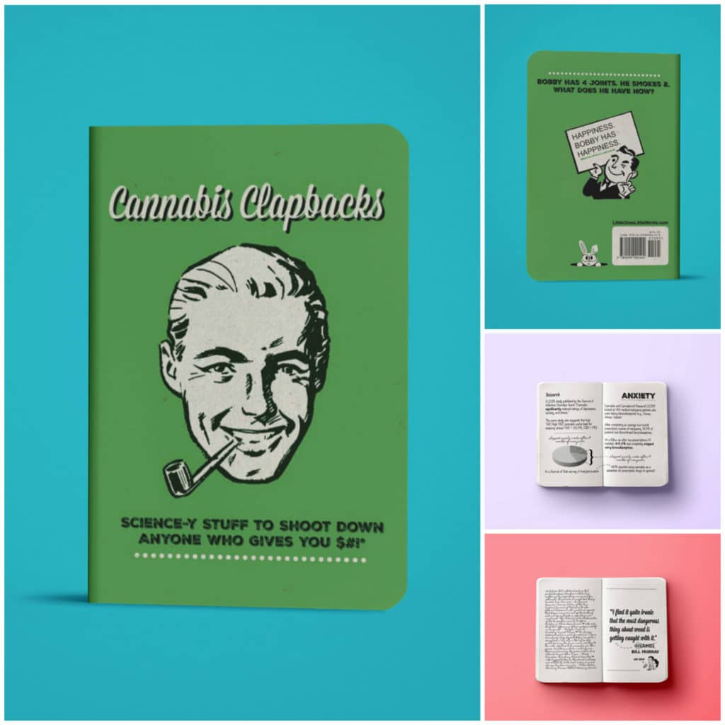 Cannabis Clapbacks Gift Book