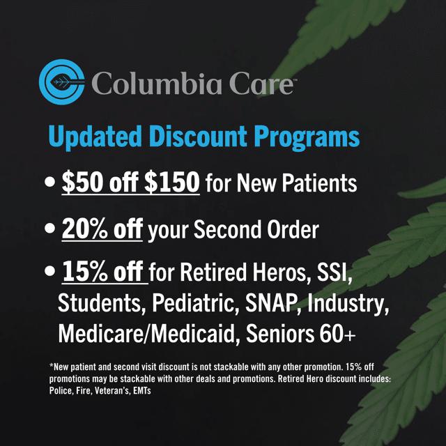 Columbia Care Labor Day Sales