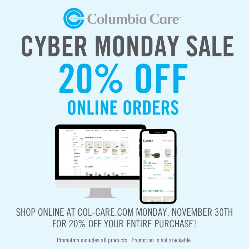 Columbia Care Cyber Sale