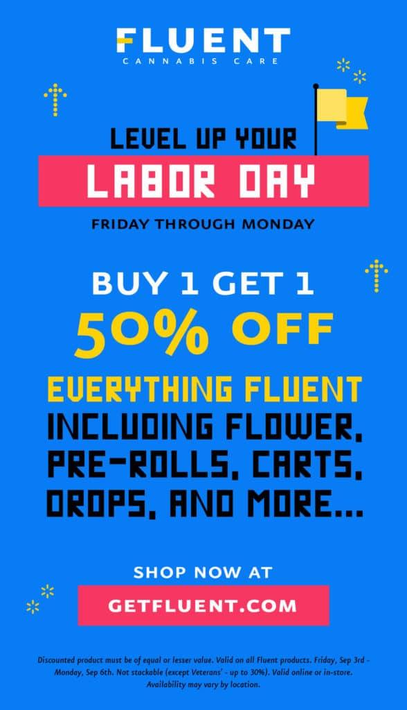Fluent Labor Day Promo