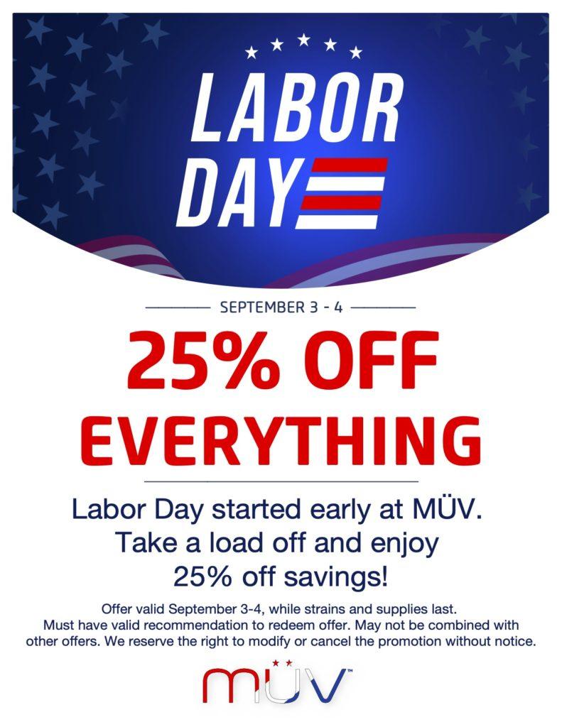 MUV Labor Day